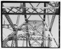 DETAIL OF DIAGONAL BRACE ON TOWN CREEK THROUGH TRUSS, FACING WEST TOWARDS CHARLESTON - Grace Memorial Bridge, U.S. Highway 17 spanning Cooper River and Town Creek , Charleston, Charleston HAER SC-32-5.tif