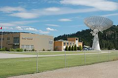 DRAO main building and dish.JPG