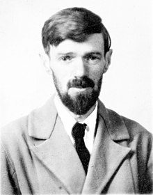 Description de l'image D H Lawrence passport photograph.jpg.