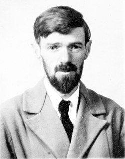 D. H. Lawrence English novelist, poet, playwright, essayist, literary critic and painter