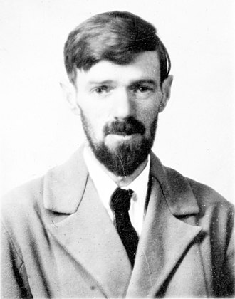 D. H. Lawrence - Image: D H Lawrence passport photograph