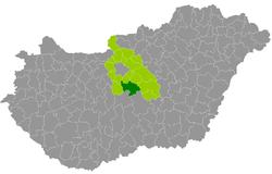 magyarország térkép dabas Dabas District   Wikipedia magyarország térkép dabas