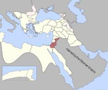 Şam Eyalet, Osmanlı İmparatorluğu (1795) .png