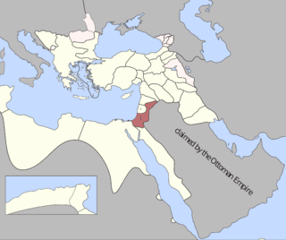 Damascus Eyalet Ottoman province