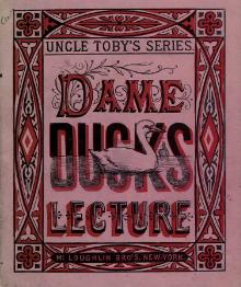 Dame Duck's lecture.djvu