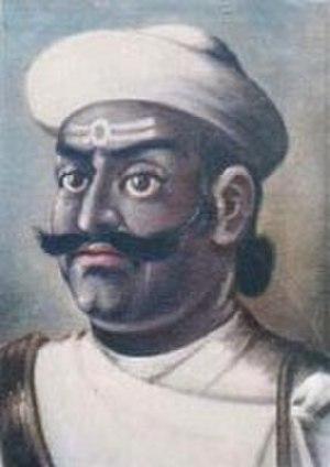 Kaji (Nepal) - Damodar Pande, First Prime Minister of Nepal