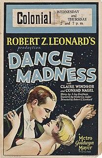 <i>Dance Madness</i> 1926 film