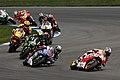 Dani Pedrosa leads the group 2014 Indianapolis.jpeg