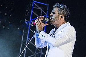 Daniel Santacruz - Image: Daniel Santacruz in the Luna Park 2015