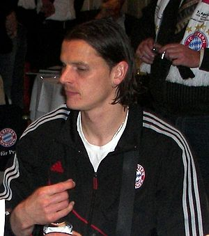 Daniel Van Buyten - Van Buyten with Bayern Munich in 2010