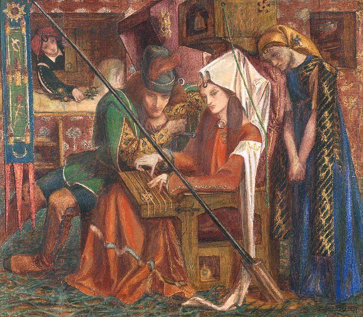 Archivo: Dante Gabriel Rossetti por una suma de siete Towers.jpg