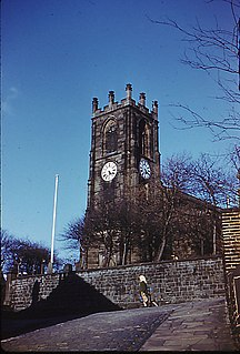 St Peters Church, Darwen Church in Lancashire, England