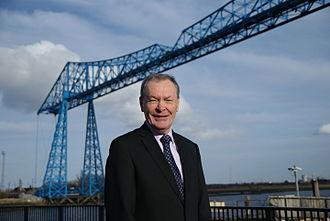 Dave Budd (politician) - Image: Dave Budd Mayor of Middlesbrough