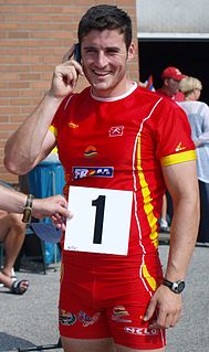 David Cal Spanish sprint canoeist