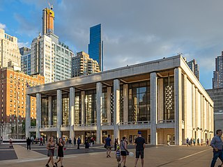 theater building, part of Lincoln Center, in New York City, United States