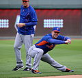 David Wright stretches on -WSMediaDay (22874495586).jpg