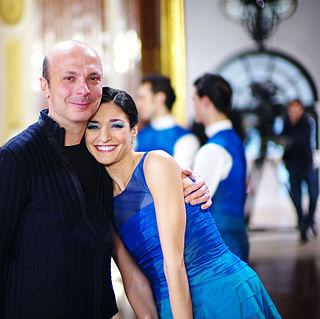 Davide Bombana Italian ballet dancer and choreographer
