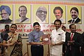 Dayanidhi Maran and the Dy. Chief Minister of Tamil Nadu, Dr. M. K. Stalin released the souvenir on XXV – Silver Jubilee Handloom Export Awards, at a function, in Chennai on August 10, 2009.jpg