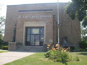 DeSales High School (Geneva, New York) - Image: De Sales HS Geneva NY