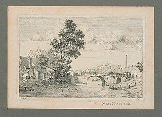De brug tussen Ankerrui en Oude Leeuwenrui