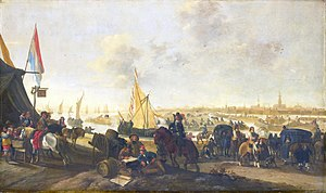 The siege and capture of Hulst in 1645 by Hendrick de Meijer