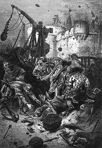 Aimery III of Narbonne - Modern artist's impression of the Siege of Toulouse, at which Aimery was present.