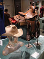 Debbie Reynolds Auction - Glenn Ford's personal cowboy boots, hat, and saddle.jpg
