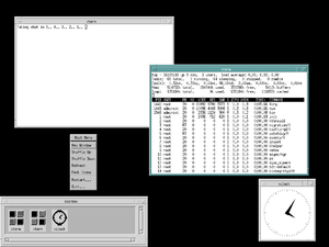 OPEN LOOK - The Motif Window Manager (MWM)