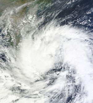 Cyclone Nilam - Nilam as a deep depression near Sri Lanka