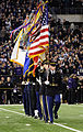 Defense.gov News Photo 111124-A-QN865-001 - U.S. Army soldiers with the Continental Color Guard 3rd U.S. Infantry Regiment The Old Guard march on to the football field during a Joint Armed.jpg