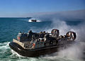 Defense.gov News Photo 120201-N-VL218-010 - U.S. Navy Landing Craft Air Cushion 53 approaches the well deck of the amphibious transport dock ship USS San Antonio LPD 17 during Bold Alligator.jpg
