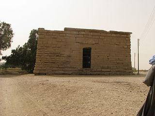 Deir el-Shelwit Archaeological site in Egypt