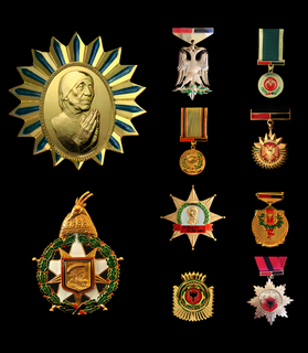 Orders, decorations and medals of Albania