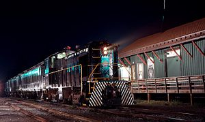 Delaware and Ulster Railroad - Delaware and Ulster train, circa 1989
