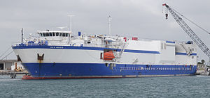 MV Delta Mariner - Image: Delta Mariner docked at Port Canaveral (08PD 3497)