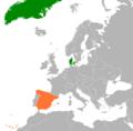 Denmark Spain Locator.png