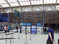 Departures board, Sheffield railway station - DSC07410.JPG