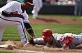 Derrek Lee and Joey Votto on June 26, 2011.jpg