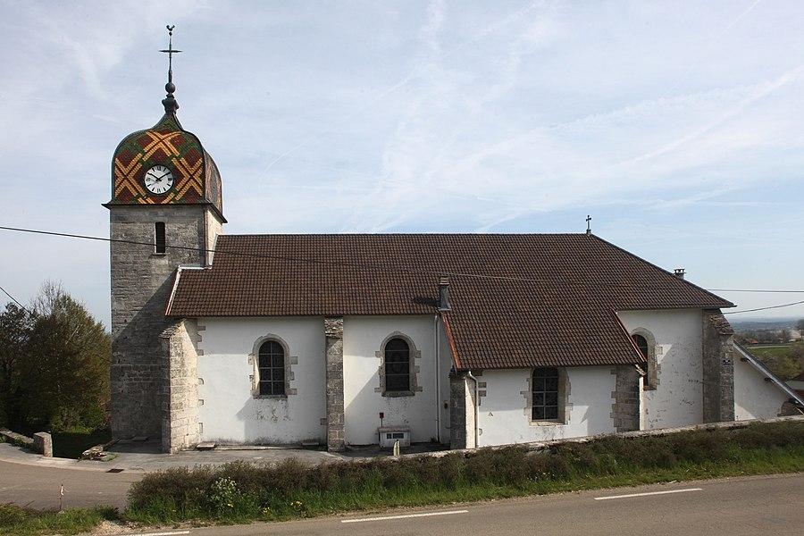 Église de Déservillers (Doubs).