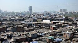 View of Dharavi
