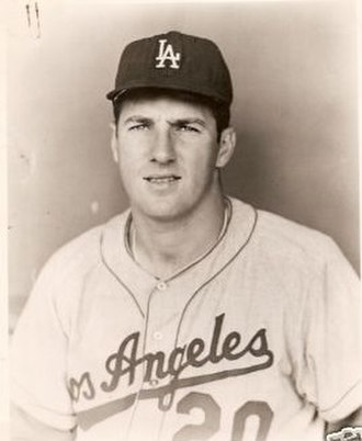 Turk Farrell - Farrell with the Dodgers