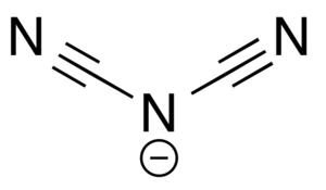 Dicyanamide - Structure of dicyanamide
