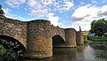 Die 1743 von Balthasar Neumann erbaute Tauberbrücke in Tauberrettersheim. 03.jpg