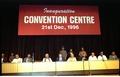 Dignitaries on Dais - Convention Centre Inaugural Ceremony - Science City - Calcutta 1996-12-21 108.tif