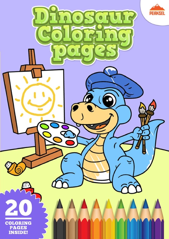File:Dinosaur Coloring Pages - Printable Coloring Book For ... | printable coloring book for kids.