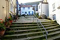 Divided steps - geograph.org.uk - 596047.jpg