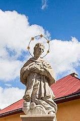 Statue of St. John of Nepomuk in Divina