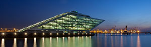 Altona, Hamburg - The Dockland at the harbour