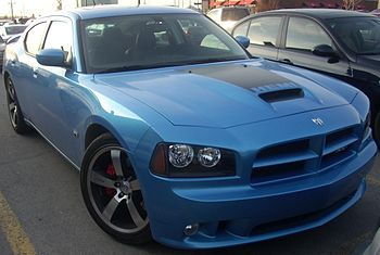 2006-present Dodge Charger photographed in Mon...