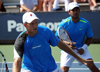 Treat Huey - Huey (right) with partner Inglot at the 2012 US Open